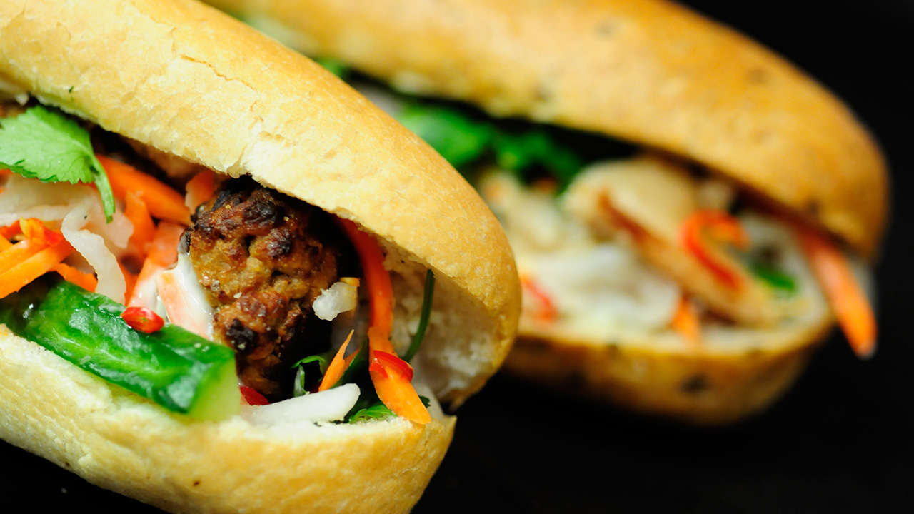 Indochine Banh Mi Food